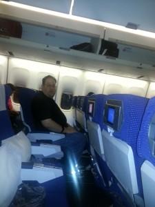 Onboard El Al's 747