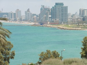 Looking Back at Tel Aviv from Jaffa