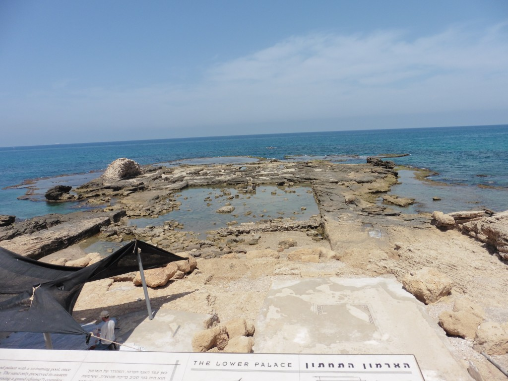 The Remains of King Herod's Swimming Pool